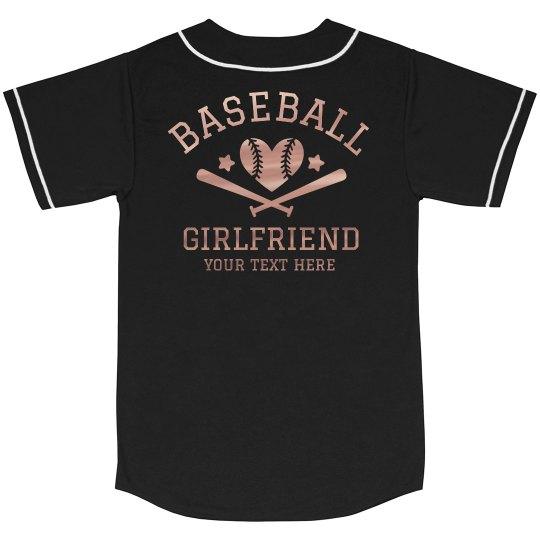 Baseball Metallic Custom Girlfriend
