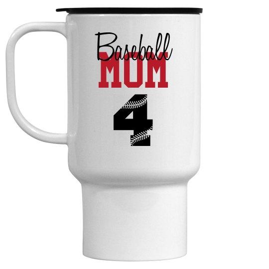 Baseball Mom - Cup