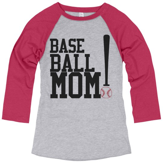 Baseball Mom - Exclamation Point