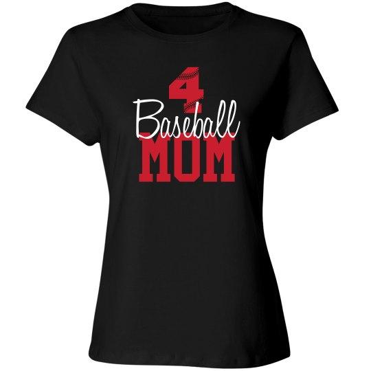 Baseball Mom - Number