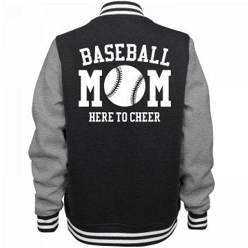 Baseball Mom Cheer Jersey