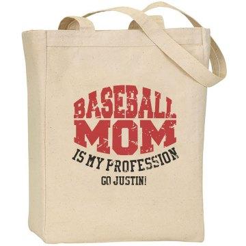 Baseball Mom Custom Player Name