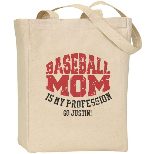 Baseball Mom Custom Player Name