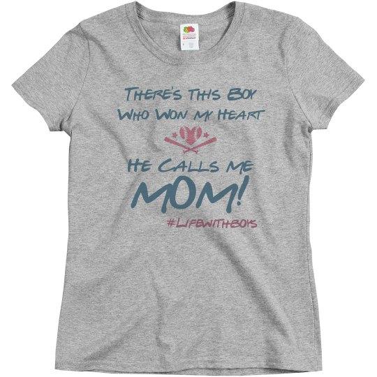 Baseball Mom (Form Fitting)