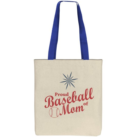 Baseball Mom Tote Bags