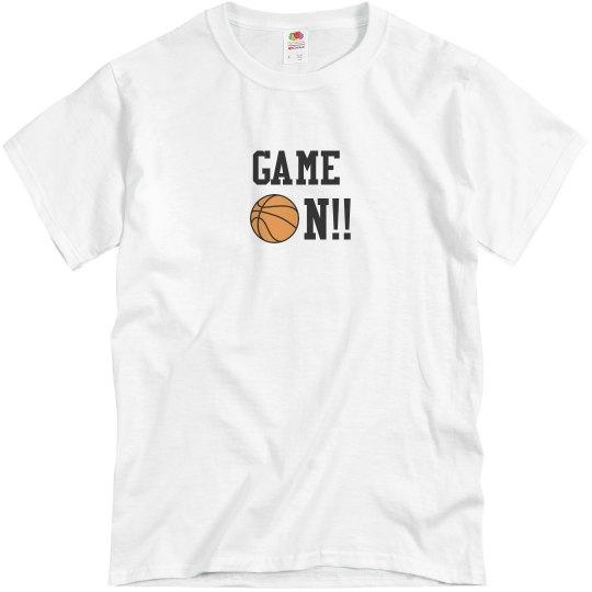 Basketball Game On wht