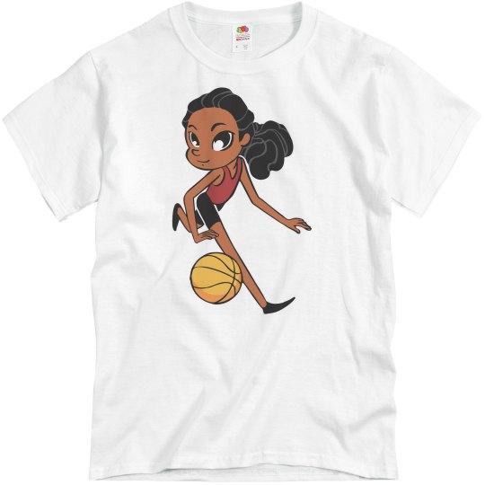 Basketball girl 2