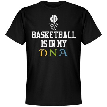 Basketball is in my DNA