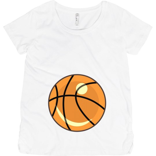 Basketball Maternity Tee