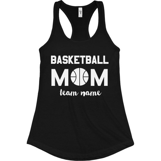 Basketball Mom Custom Racerback