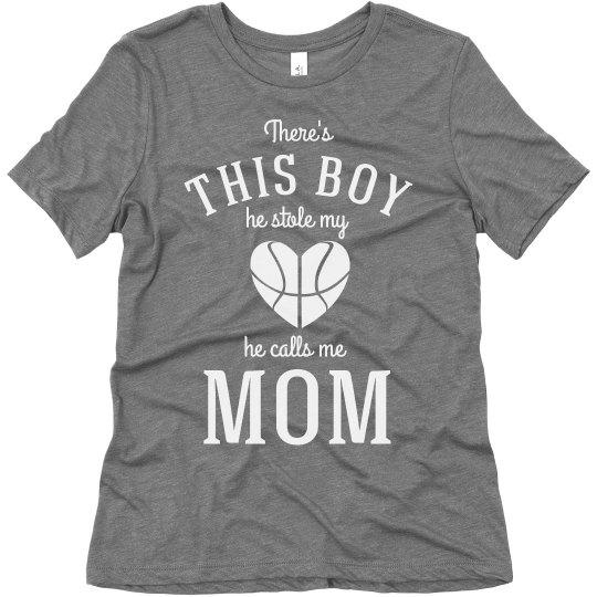 Basketball Mom He Stole My Heart