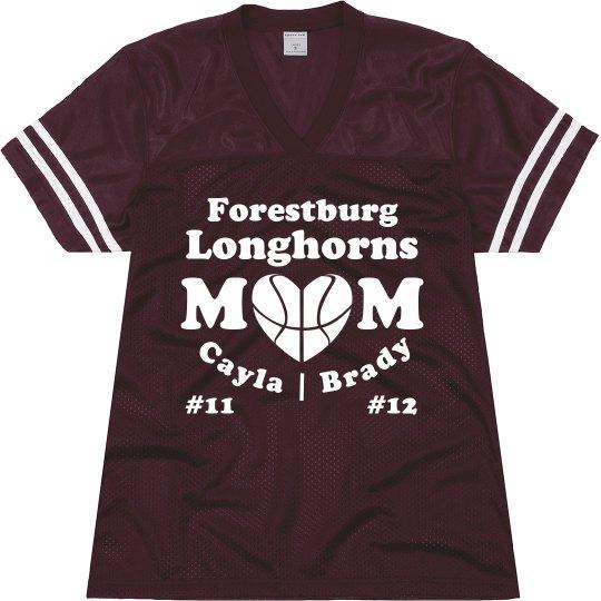 Basketball Mom Jersey: Multiples