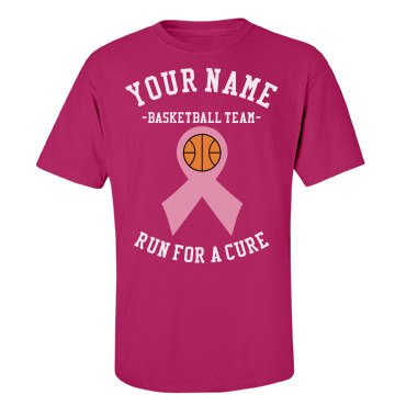 Basketball run for a cure