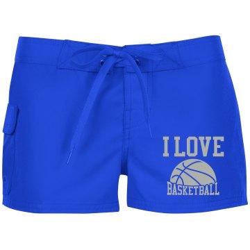 Basketball Swim Shorts