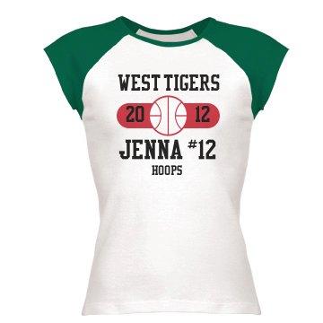 Basketball Tee w/ Name