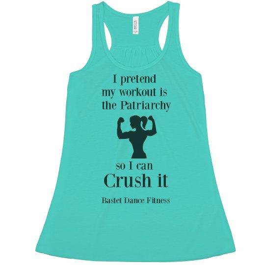 Bastet Dance Fitness - Crush the Patriarchy Tank