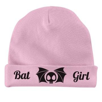 Bat girl baby hat