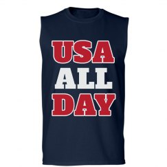 USA All Day 4th Of July America