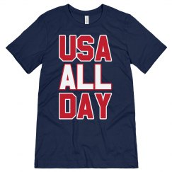 July 4th USA All Day Patriotic