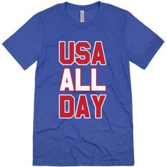 USA All Day Patriotic American