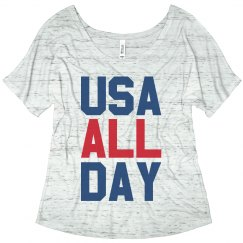 USA All Day American Pride Patriot