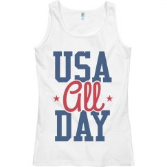 USA All Day July 4th American