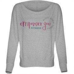 Empower You Fitness Brand logo Long sleeve