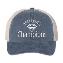 Ladies Remaking Champions Hat