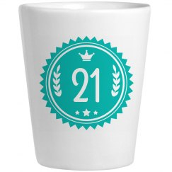 Custom Age Shot Glass