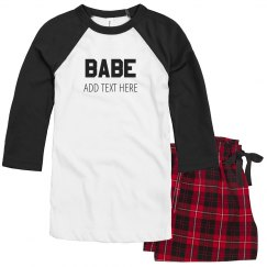 Matching Couples Babe Love Design