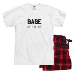 Unisex Pajama Set