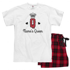 Custom King Queen Of Hearts Couple