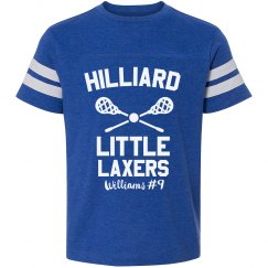 Little LAX Kid Custom Shirt