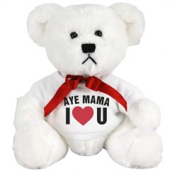 I Love You Mothers Day Gift Bear