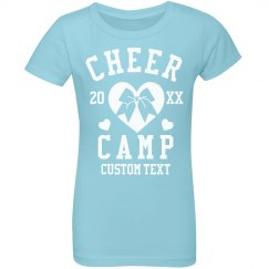 Personalized Cheer Camp Tees