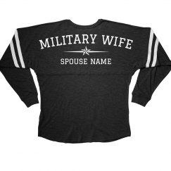 Cozy Custom Military Wife