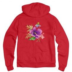 Purple Spring Floral