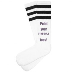 Bastet - Point your F*#&@%! toes! Socks