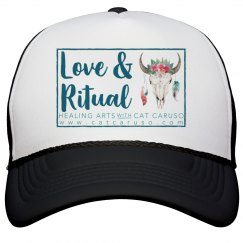 Trucker Hat, larger logo