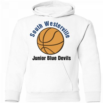 Bball Double Sided Hoodie