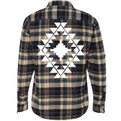 Aztec Fashion Flannel