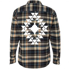 Aztec Fashion Flannel