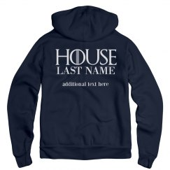 Customizable House Name