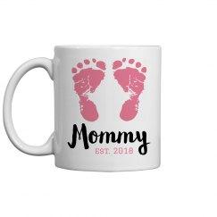 New Mommy Custom Mother's Day Mug