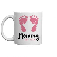 New Mommy Custom Mother's Day Mug
