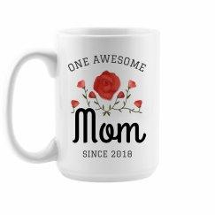 One Awesome Mom Custom Mug