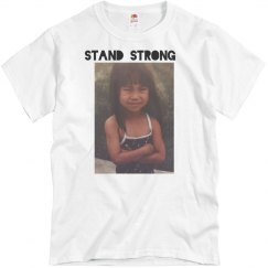 Kid alma white tee