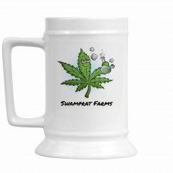 SWAMPRAT FARMS beer Stein