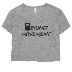 Movement Crop Tee