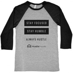 Always Hustle - Grey/Black